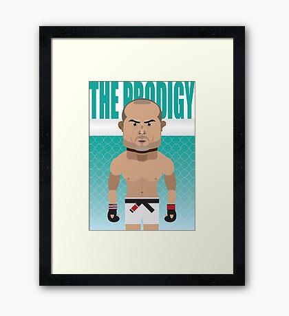 B.J. The Prodigy Penn. Framed Print