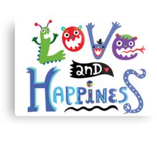 Love & Happiness Metal Print