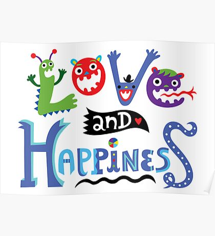 Love & Happiness Poster