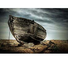 Derelict and Desolate in Dungeness Photographic Print