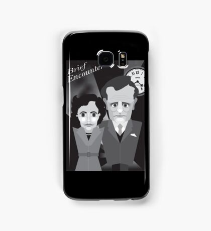 Brief encounter Samsung Galaxy Case/Skin