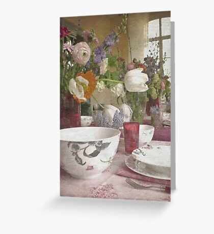 Country Vintage - Cottage No.4 Greeting Card