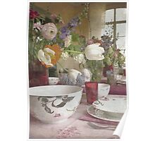 Country Vintage - Cottage No.4 Poster