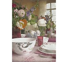 Country Vintage - Cottage No.4 Photographic Print