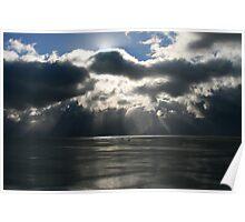 Evening, Ross Sea, Antarctica Poster