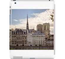 View on Notre Damme iPad Case/Skin