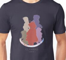 Clannad girls - colored silhouettes Unisex T-Shirt