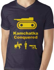 Risiko Kamchatka Yellow Mens V-Neck T-Shirt