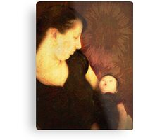 Mother & Child Metal Print