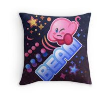 Kirby Beam Throw Pillow