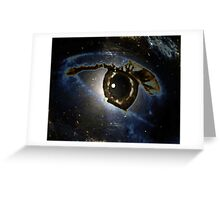 Real or Imagined Universal Eye Greeting Card