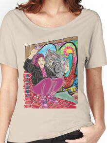 Allana~Indie Artist~(C) Women's Relaxed Fit T-Shirt