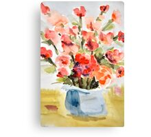 Red Poppies for Belinda Canvas Print
