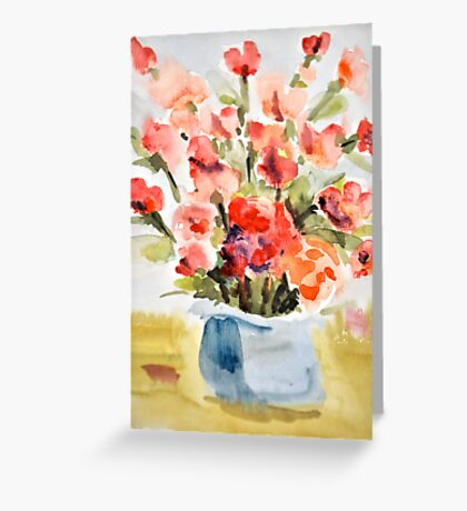 Red Poppies for Belinda Greeting Card