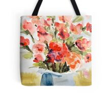 Red Poppies for Belinda Tote Bag
