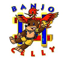 Banjo Celly T-Shirt Photographic Print