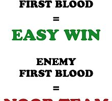 First Blood by lauranonce