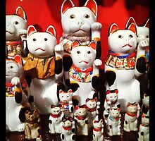 Lucky Cats by christazuber