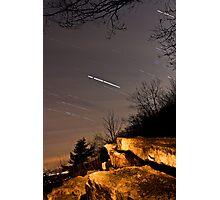 Star trails. Photographic Print