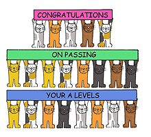 Congratulations on passing your A Levels by KateTaylor