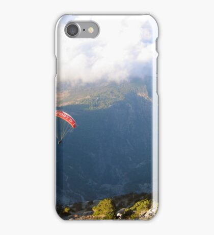 Flying through the clouds iPhone Case/Skin