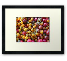 Tomato Party Framed Print
