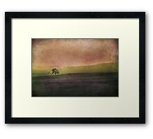 Every Time You Go Framed Print