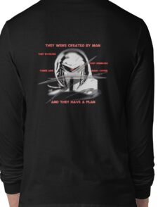 They Evolved Long Sleeve T-Shirt