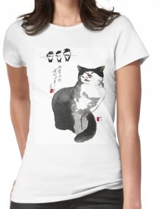 a touch of zen no.2 Womens Fitted T-Shirt