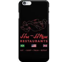 Jiu-Jitsu restaurant iPhone Case/Skin