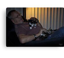 """ New Kittens "" Canvas Print"