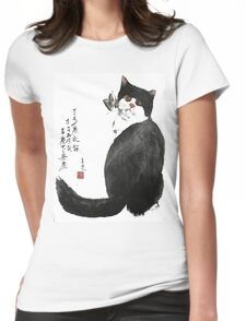 a touch of zen no.4 Womens Fitted T-Shirt