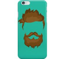 Hairstyle hipster  iPhone Case/Skin
