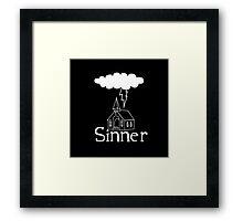 Sinner Framed Print
