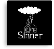Sinner Canvas Print