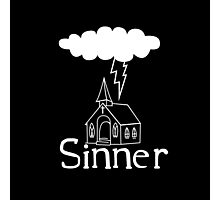 Sinner Photographic Print