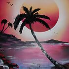 The Blazing Sun by Rozalia Toth