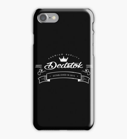 Dedstok iPhone Case/Skin