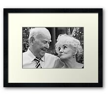 THEY NEVER STOP!! Framed Print