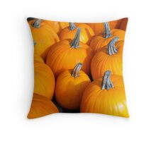 Pumpkins! Throw Pillow
