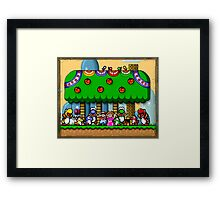 Super Mario World Framed Print