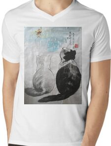 a touch of zen no.9 Mens V-Neck T-Shirt