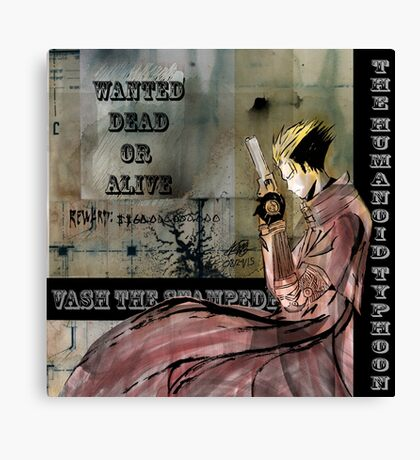 Vash The Stampede Canvas Print