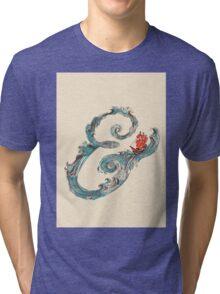 Water Ampersand Tri-blend T-Shirt