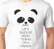 Emo Panda Unisex T-Shirt