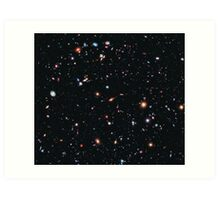Hubble Extreme Deep Field Image of Outer Space Art Print