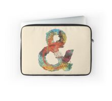 Psychedelic Ampersand Laptop Sleeve