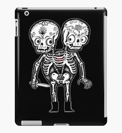 Calavera Twins iPad Case/Skin