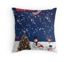 Its a North Pole Christmas Throw Pillow
