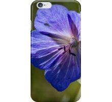 Purple Geranium iPhone Case/Skin